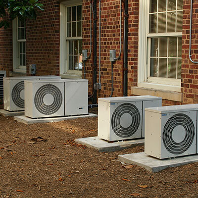 air conditioners on roof