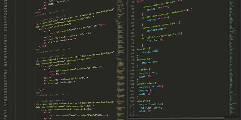 sublime html css code